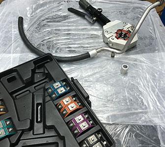 ремонт трубок кондиционера автомобиля
