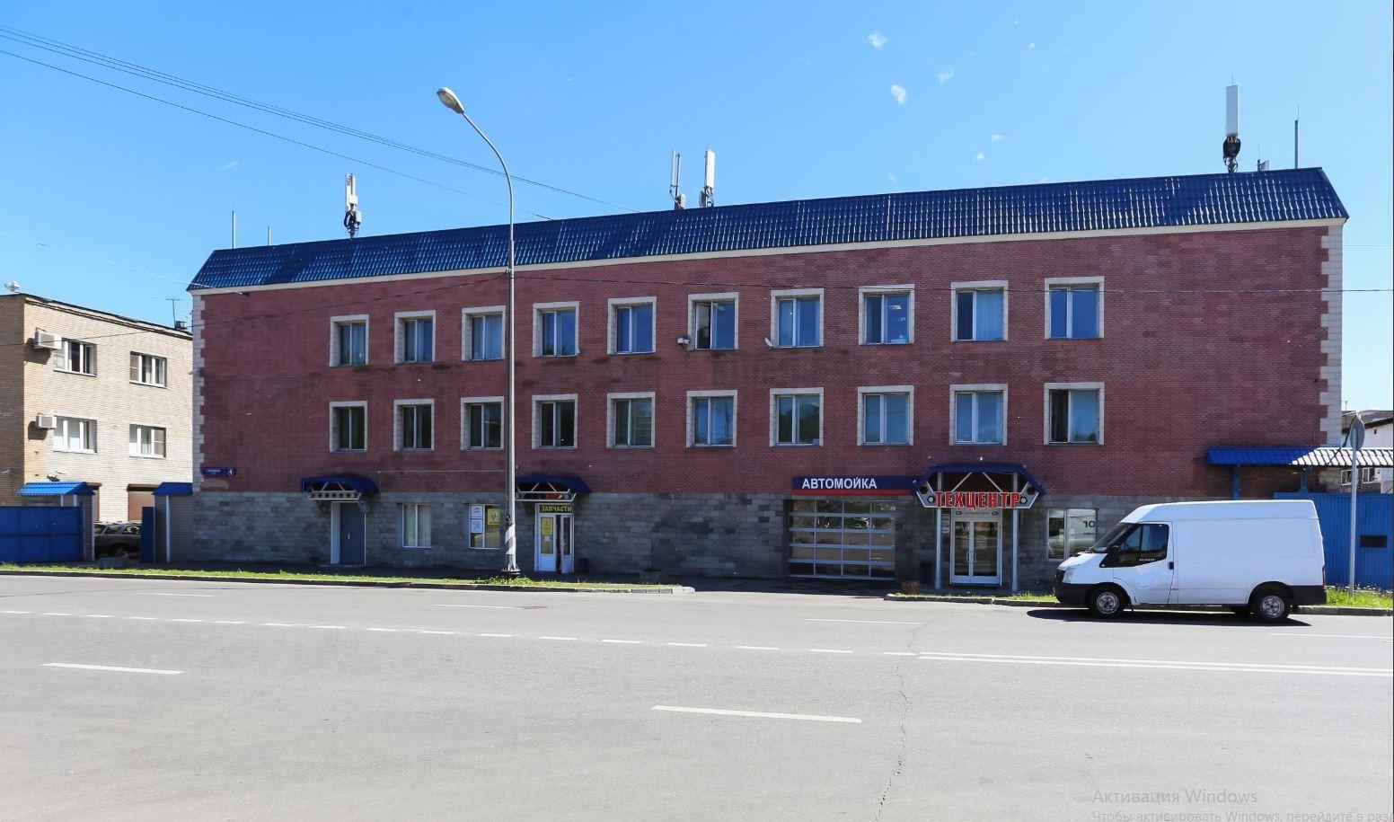Панорама здания техцентра «Энтузиаст-авто»